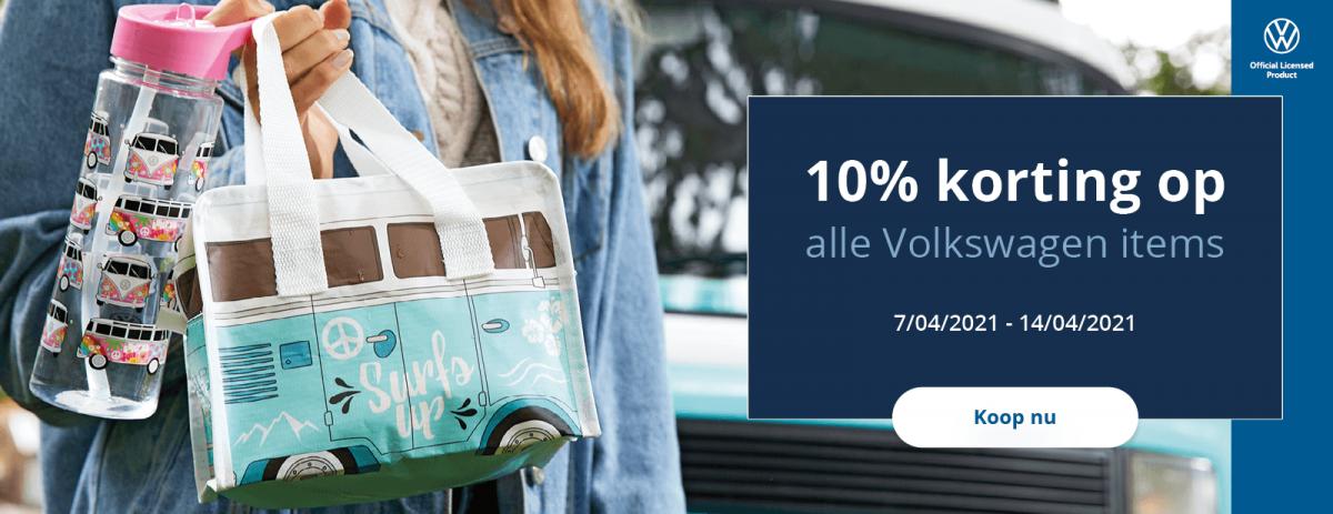 Tijdelijk 10% korting op VW designs